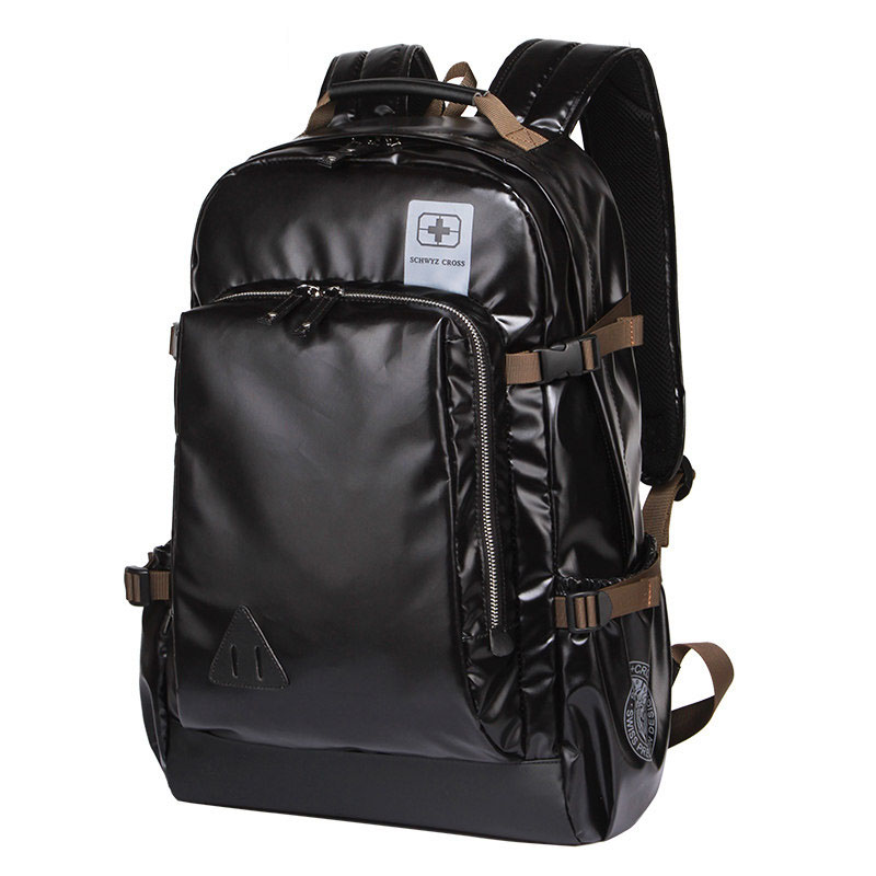 Comfy Shockproof Business Casual Laptop Backpack Side Buckle Women Korean Style Fashion Travel Bag Men Trendy School Bag цена