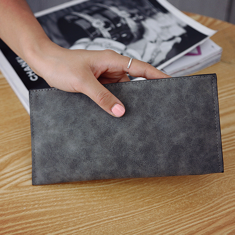 2018 new womens long wallets female fashion PU leather zipper clutch wallet Coin Purses Mobile Phone Bags Lady Card & ID Holders