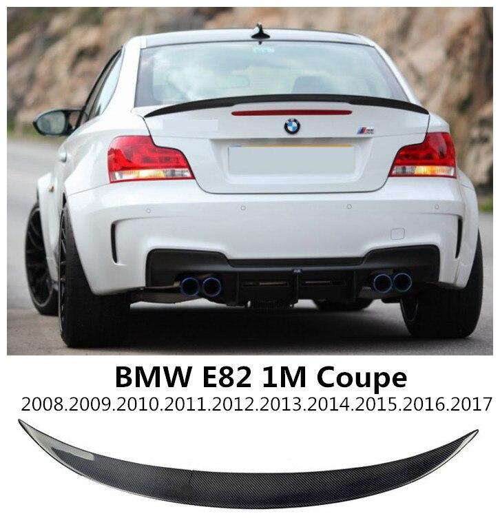 Becquet en Fiber de carbone pour BMW E82 M1 COUPE
