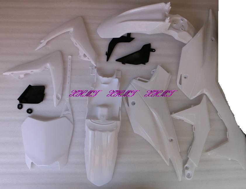Plastic Bodywork Fairing Body Kit for Honda CRF 110 CRF110 CRF110F 2013 2014 2015 13 14 15 unpainted white injection molding bodywork fairing for honda vfr 1200 2012 [ck1051]