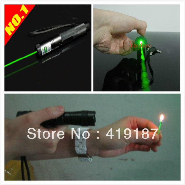 2013 Newest Green Laser Pointer Light Pen Top Laser 303 5000mW Green Laser Pointer High quality Free shipping