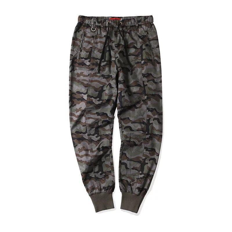 Hip Hop Pencil Pants Men Military Cargo Pants Streetwear Men Trousers Camouflage 2019 Spring Mens Tactics Pant HD065