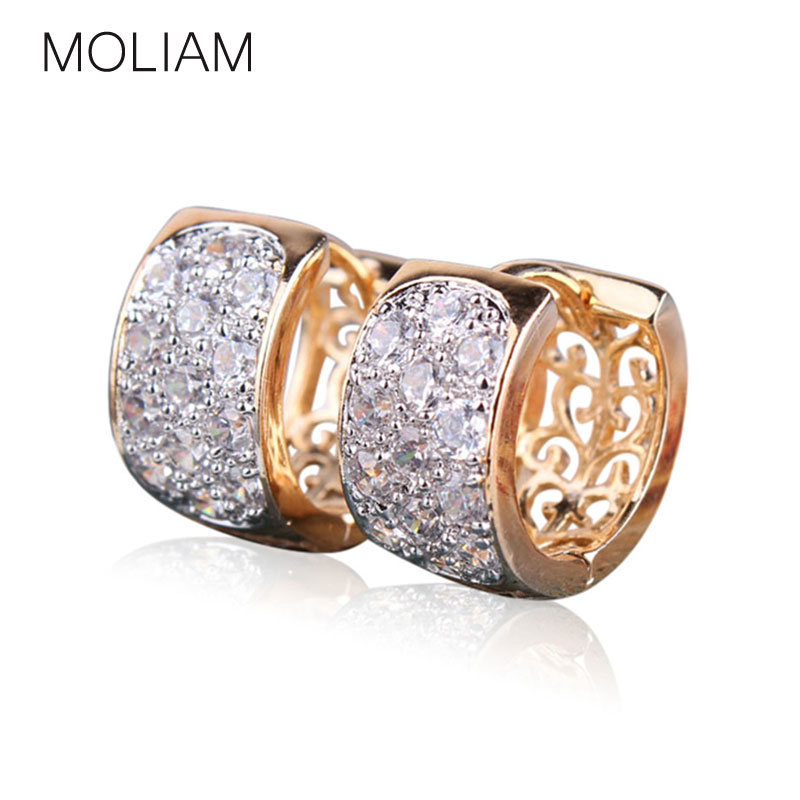 MOLIAM Fashion Hoop Earrings...