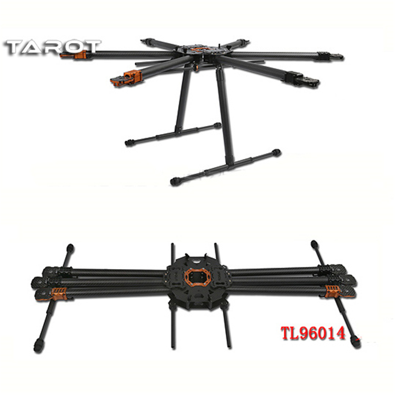 Tarot T960 Folding Hexacopter Carbon Fiber FPV Multicopter Six Rotor Aircraft Frame Set TL960A f/ RC Photography цена