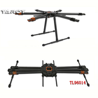 Tarot T960 Folding Hexacopter Carbon Fiber FPV Multicopter Six Rotor Aircraft Frame Set TL960A f/ RC Photography