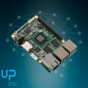 Image 2 - 1 قطعة x Up لوحة إنتل X86 حجم بطاقة الائتمان مجلس الكمبيوتر للصناع مع X5 8350 ذرة رباعية النواة