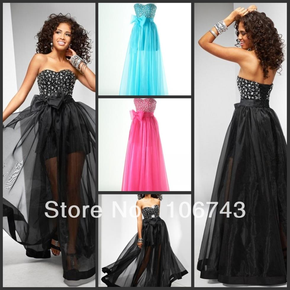 free shipping 2018 best seller brides Customize sweetheart plus crystal cute black tulle party prom gown bridesmaid dresses