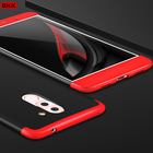 GKK Honor6X Double Dip Armor Phone Case For Huawei Honor 6X Case Thin GR5 2017 BLL-L21 Mate 9 Lite Phone Cover Matte Cases