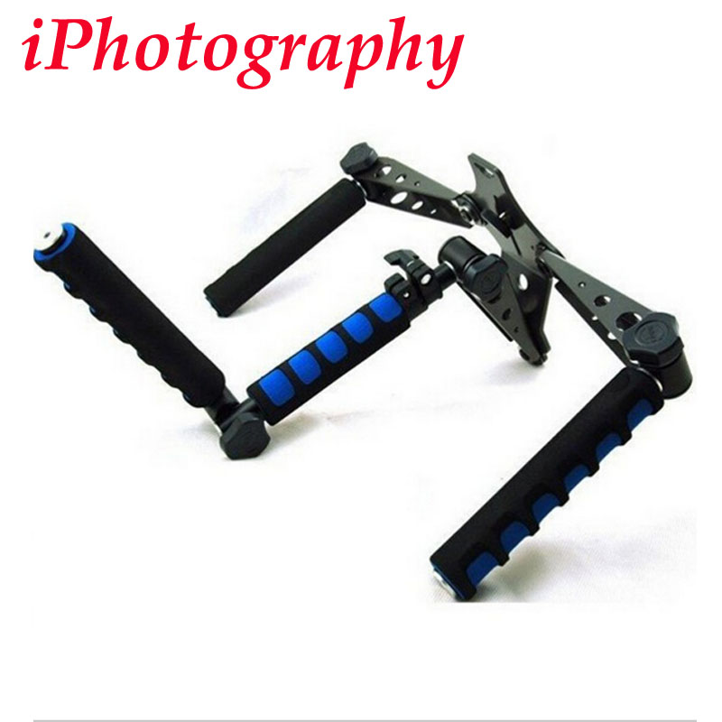 DSLR Rig original Movie Kit Shoulder Mount Photo Studio Accessories for any Camcorder DV Camera Canon Sony Nikon Panasonic new portable dslr rig film movie kit shoulder mount video photo studio accessories for canon sony nikon slr camera camcorder dv