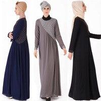 Chiffon Kaftan Hijab Muslim Dress Abaya Turkey Dubai Caftan Ramadan Abayas For Women Turkish Tesettur Elbise Islamic Clothing