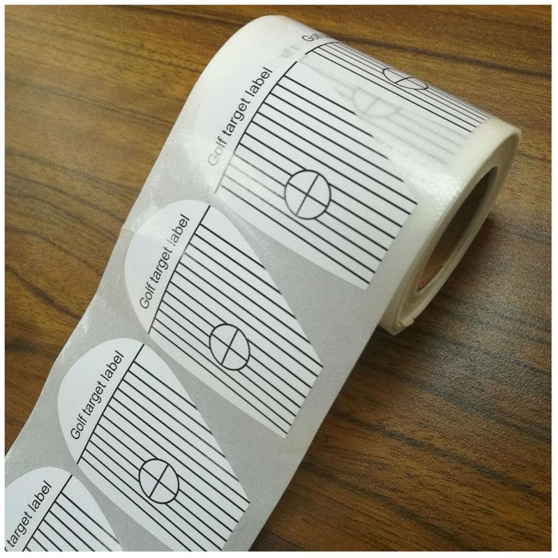 Golf Impact Labels Target Sticker Tape (250) Modern Golf Clubs Stickers Recorder Practice Golf Training Sport Accessaries