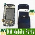 3 Цвета 4.8 Для Samsung Galaxy S3 SIII i9300 GT-I9300 i9305 i747 ЖК-Дисплей + Сенсорный Экран + Рамка 1 Шт./лот