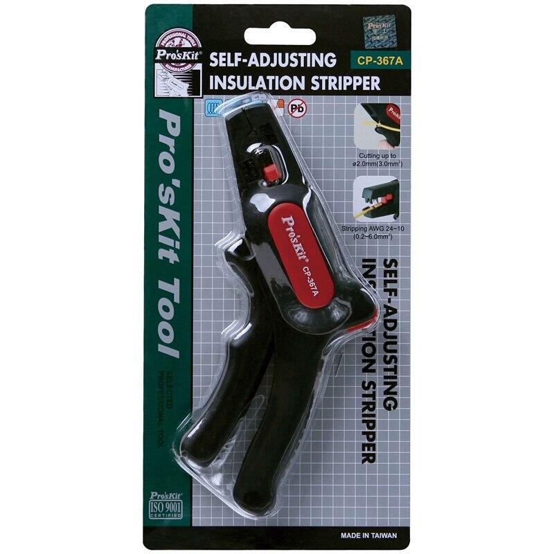 Купить с кэшбэком Pro'skit CP-367A Automatic Wire Strippers wire self adjustment wire cutter stripping wire tool stripping gun stripper hand tool