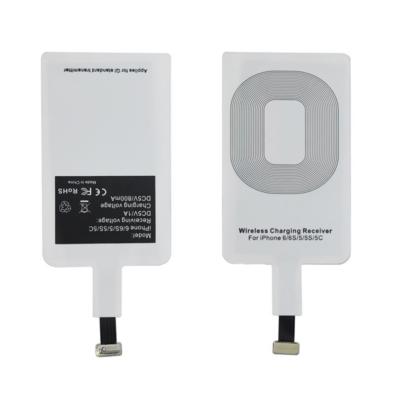 Qi Wireless Charger Adapter Adapter Bluetooth Mini Jack Oneplus 5 Usb C Adapter Kingston M 2 Pcie Adapter: Qi Universal Wireless Charger Receiver Charging Adapter