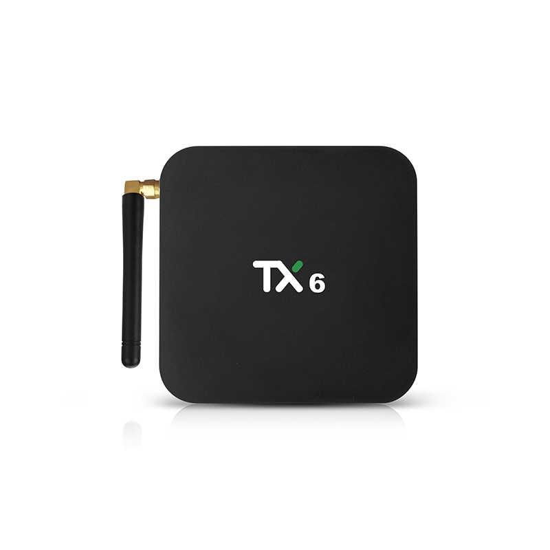 TIVI box Android 9.0 TX6 RAM 4GB Rom 64GB hỗ trợ 4K H.265 HD mi 2.0 2.4/ 5G WIFI Youtube NEFLIX Mi Box hỗ trợ IPTV Android Box TV