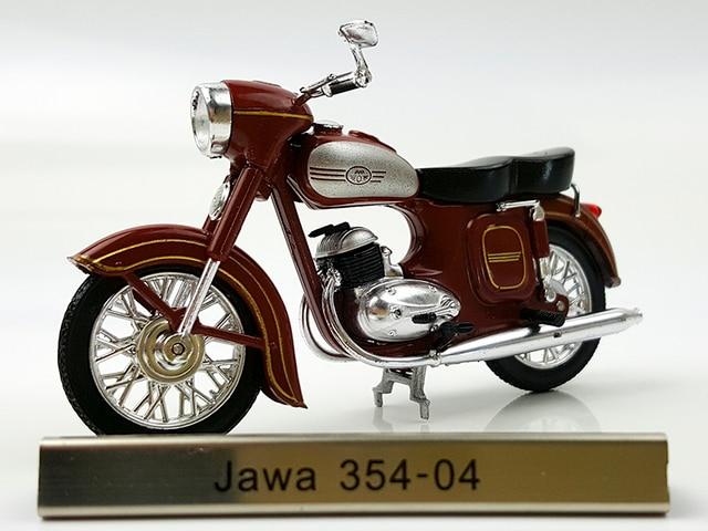 Un tlas 1:24 Jawa 354-04 Moto alliage de voiture jouets pour enfants enfants jouets Modèle cadeau boîte d'origine livraison gratuite
