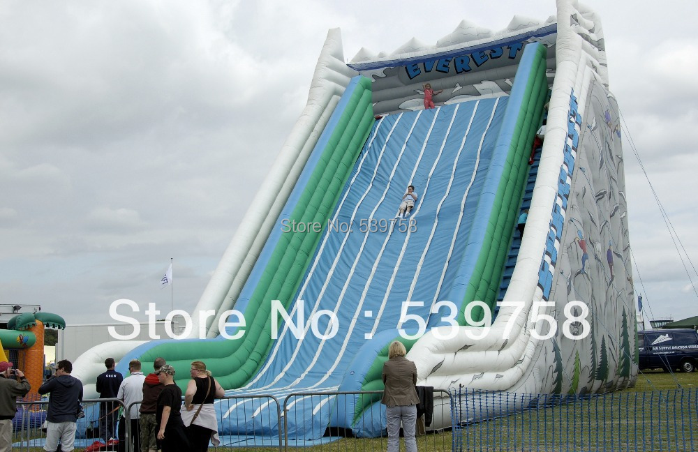 Factory direct large inflatable slide / castle / water slide / pool slide / adult children commercial slide for saleBY 001