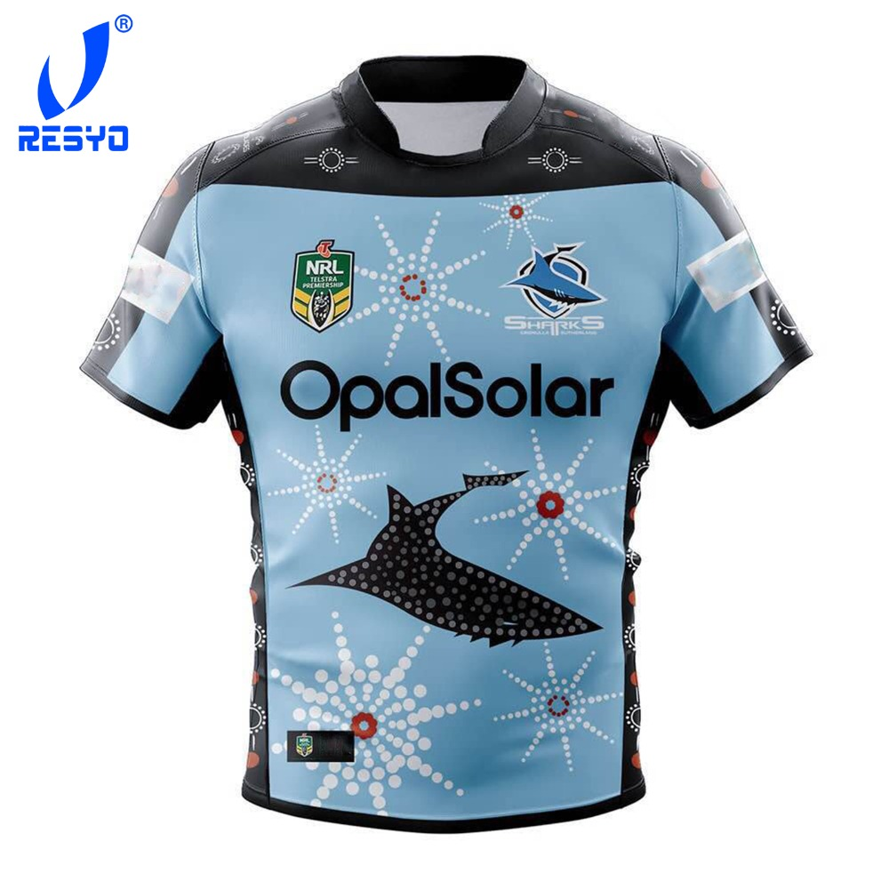 f81df2acb02 RESYO 2018-2019 NRL SHARKS RUGBY JERSEYS ALL SERIES image