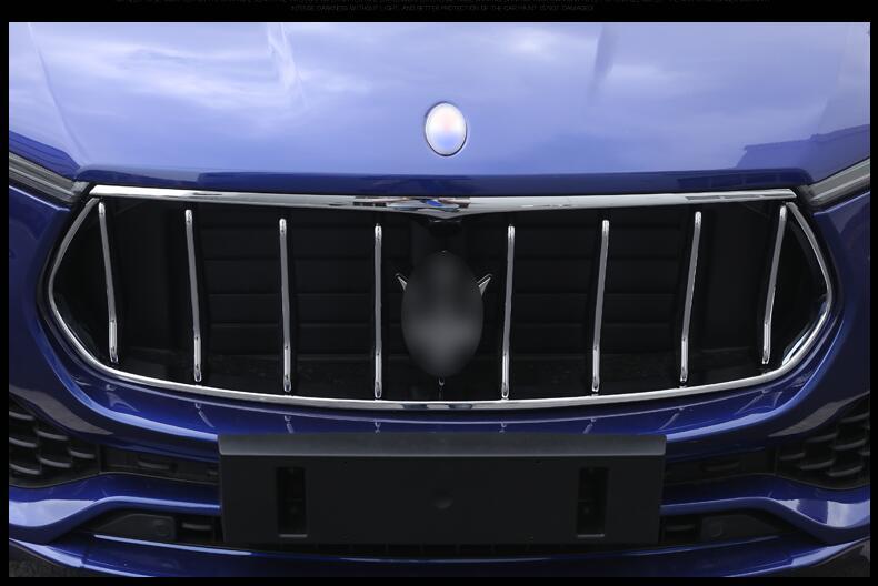 Jioyng автомобилей противотуманный бампер сетки решетка грили крышка планки для 16 17 Maserati LEVANTE 2016 2017 2018