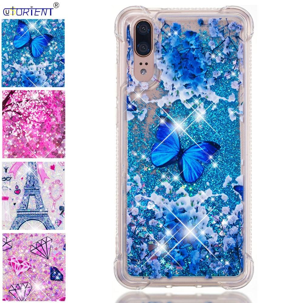 Phone Bags & Cases Cellphones & Telecommunications Adroit Bumper Cover For Huawei P20 Bling Glitter Dynamic Liquid Quicksand Back Case Emily-l29 Eml-l29 Eml-l09 Eml-l29c L22 Phone Funda