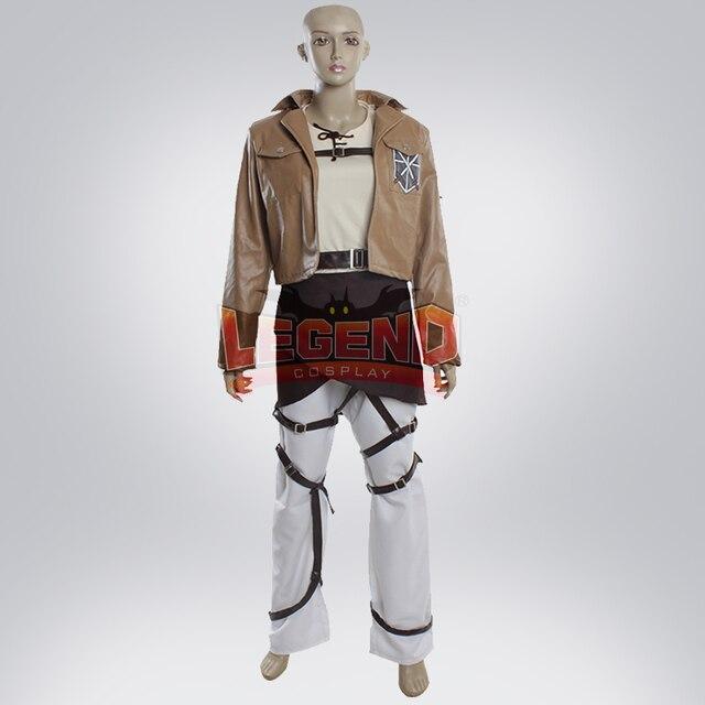 Titan Eren Adulte Veste Fait Attaque Yeager Costume Sur Jaeger qtnq4WEU