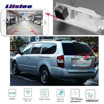 LiisLee For KIA VQ (China) 2008~2013 for KIA Sedona 2006~2014 HD Backup Parking Camera Reverse  wireles Camera