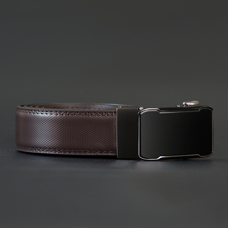 Image 5 - COWATHER Cow Genuine Leather Belt Top Quality Alloy Buckle Men Belts Automatic Buckle Cowhide Male Strap Black Brown Straps-in Men's Belts from Apparel Accessories on AliExpress