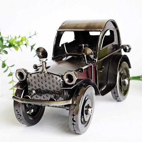 ФОТО ADA052 Metallic FurnishingClassic Car Model Home Office Irion Articles