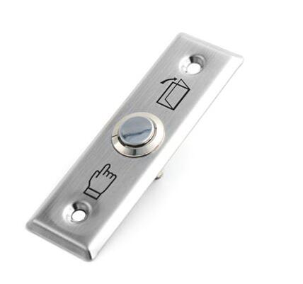 Door Lock Gate Opener Exit Button For Access Control,Stainless Steel