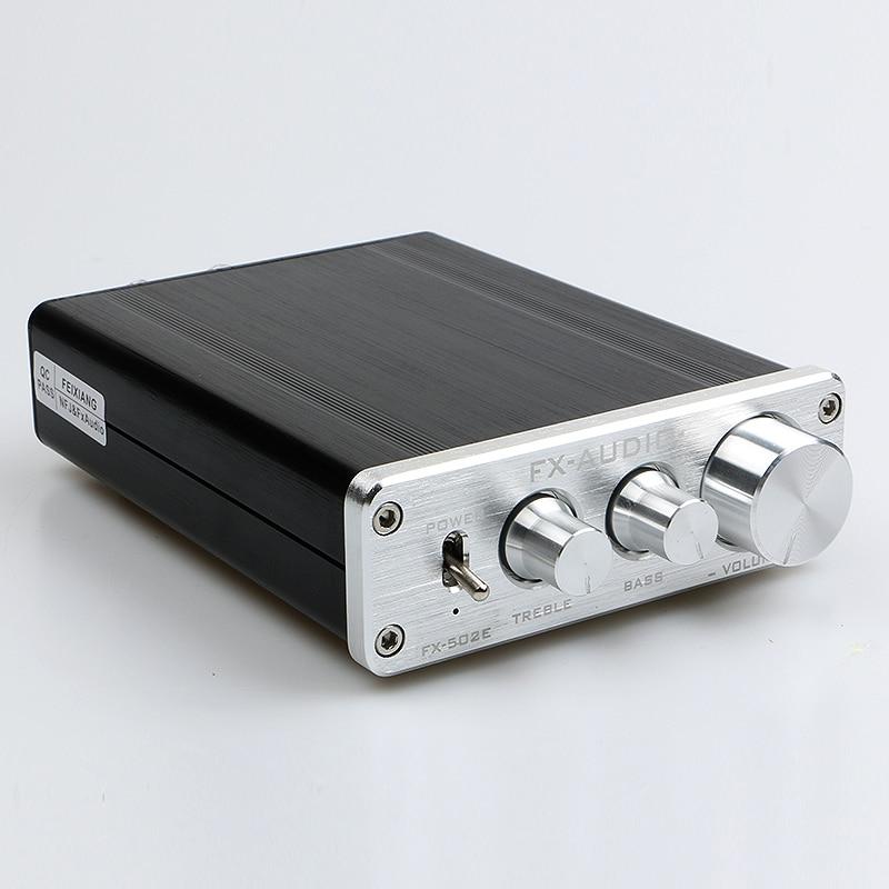 FeiXiang FX-AUDIO FX502E TDA7498L LM1036 HIFI 2.0 Audio High Power Digital Amplifier 68W * 2