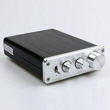 FeiXiang FX-AUDIO FX502E TDA7498L LM1036 HIFI Audio 2.0 Amplificador Digital de Alta Potencia 68 W * 2