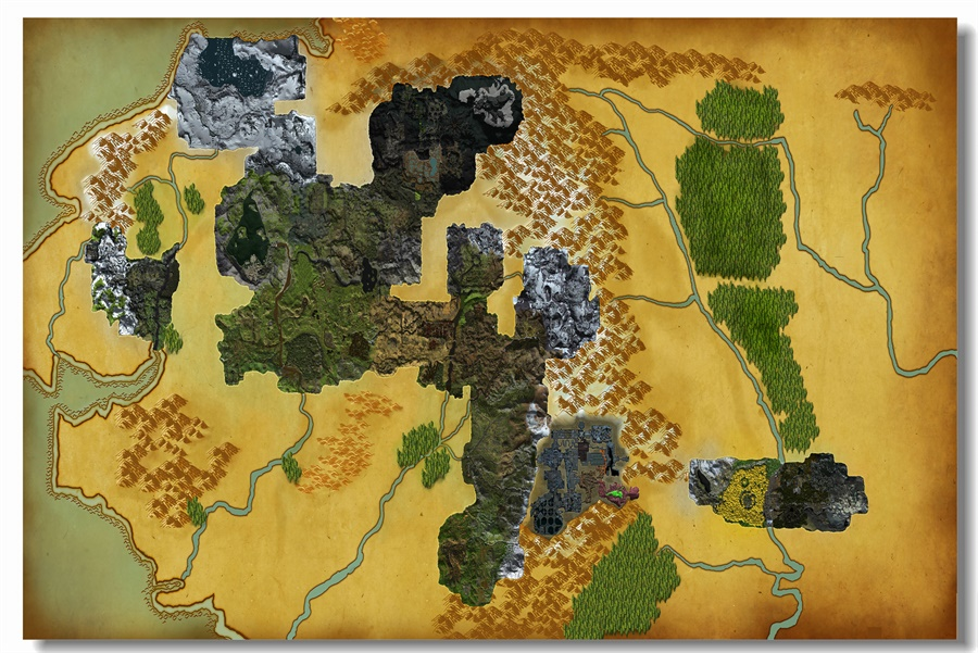 Map Of All Of Middle Earth » Download wallpaper high full HD | Full ...