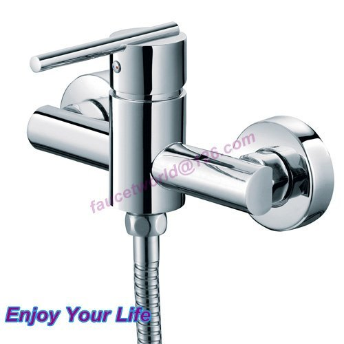 [Enjoy Your Life] Free shipping /Modern Style Round Brass Bathroom  bathtubShower Mixer faucet /6065