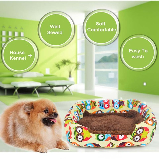 Fashion Soft Winter Dog House Summer Dog Bed Fashionable Puppy Pet Chihuahua Small Dog Sofa Cats Bed Dog Bed Nest Mat Kennel