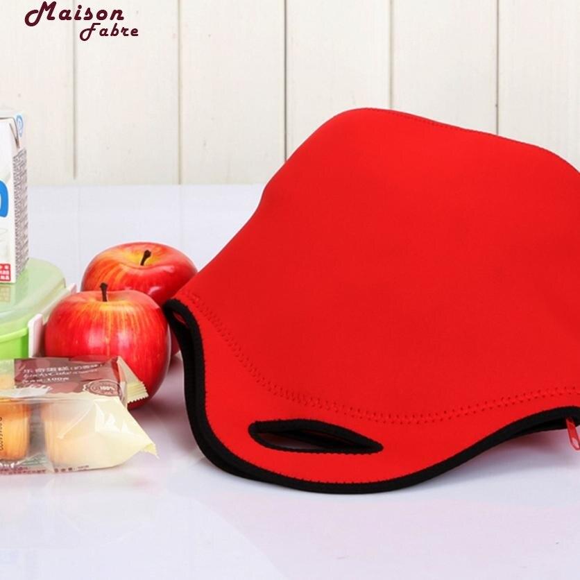Maison Fabre picnic bag Neoprene Thermal Lunch Waterproof Food Beverage Bento Box Storage Tote bag picnic bag for girl 2018f3