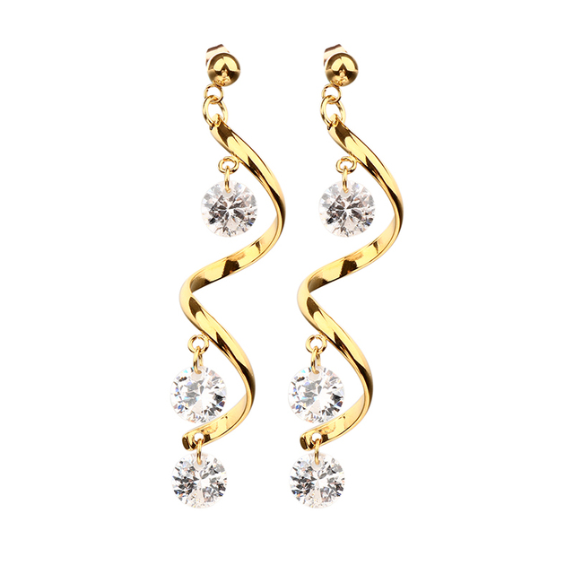 statement silver rhinestone drop earrings products shine inclined beautiful to
