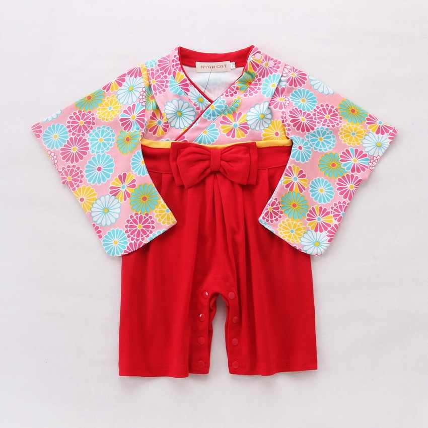4434aa28dfff Detail Feedback Questions about Baby Romper Girls Floral Print ...