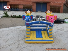 inflatable cartoon elephant bouncer house inflatable outdoor toys customized inflatable jumping trampoline for school playground