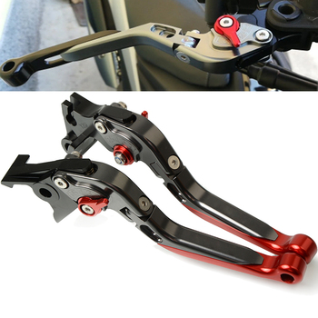 For SUZUKI GSXR 600 K4 K5 GSX-R 600 Motorcycle Brakes Handle CNC Adjustable Foldable brake clutch levers GSXR600 2004-2005 new motorcycle adjustable folding extendable brake clutch lever for suzuki gsxr 600 750 gsxr600 gsxr750 96 03 gsxr1000 01 2004