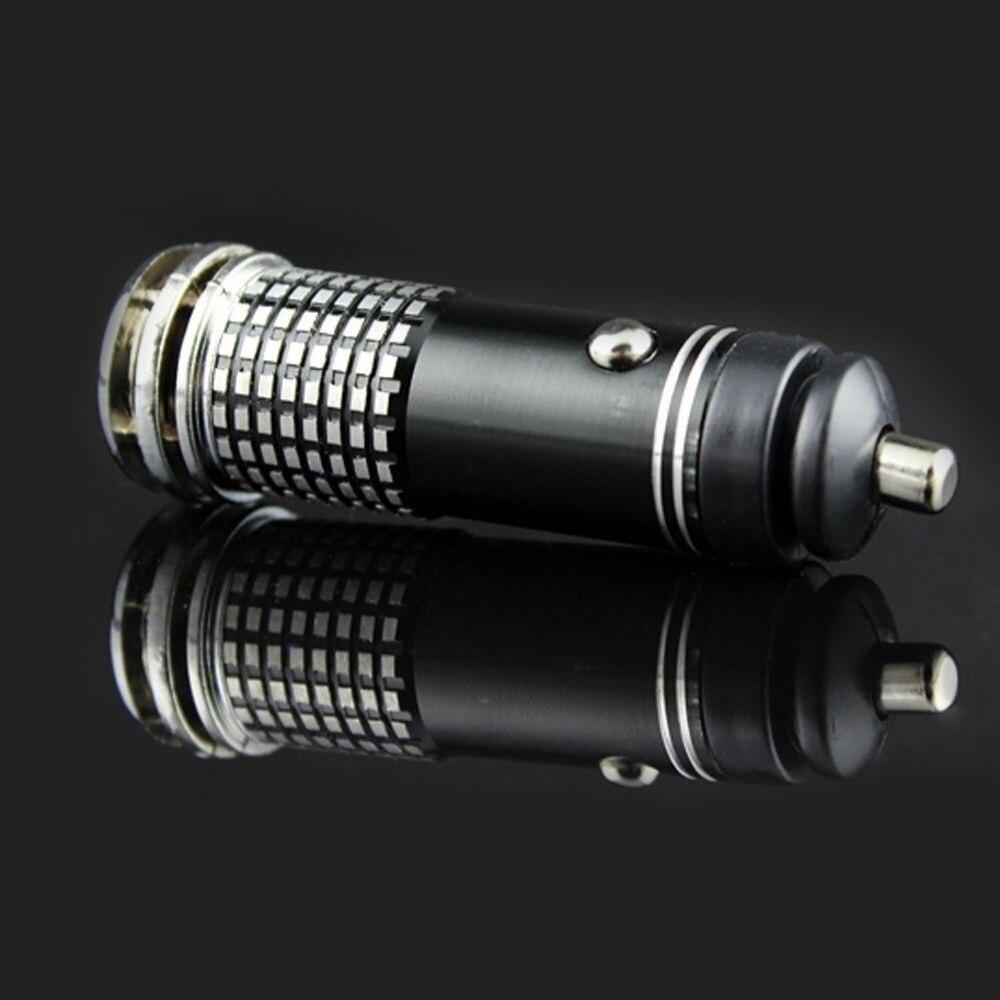 Универсальный Авто Свежий мини Воздухоочистители 12 V ионные очиститель воздуха озоновый ионизатор очиститель (черный) высокого качества