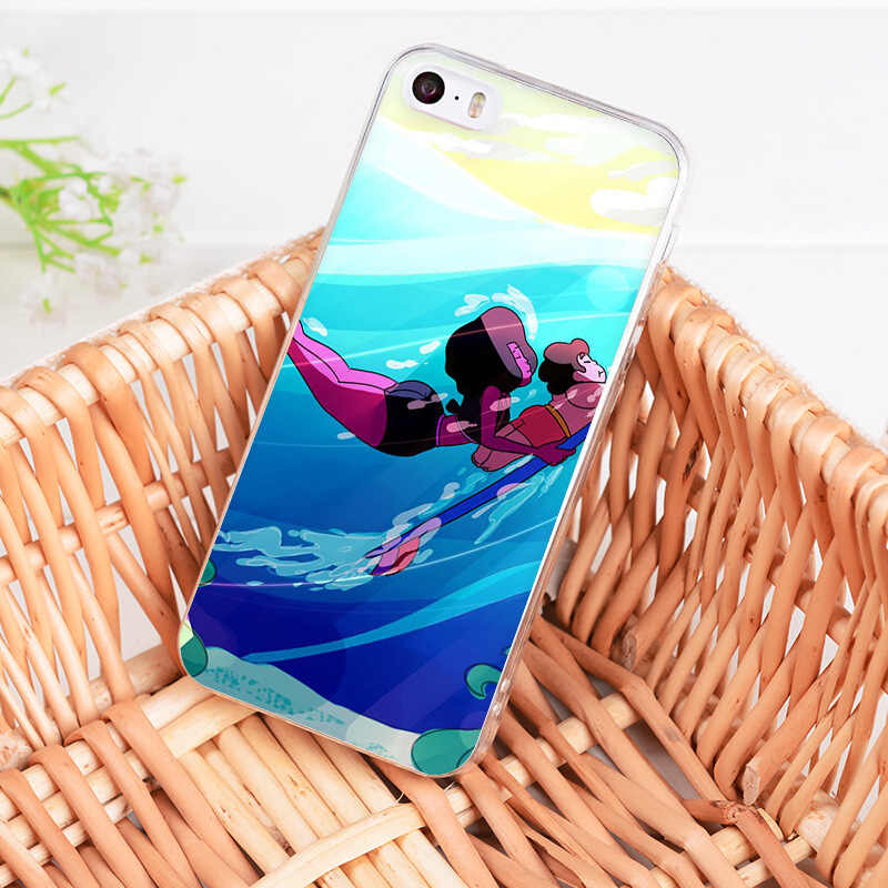 MaiYaCa Cartoon Steven Universe Coque Case voor iphone 11 Pro 8 7 6 6S Plus X XS XR XSMAX 4S