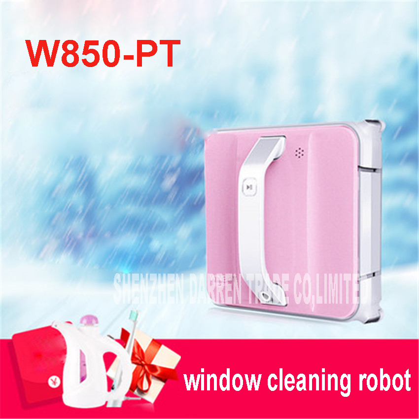Window Cleaner Robot W850-PT Full Intelligent Automatic Window Cleaning Robot, Framed and Frameless Surface Both Appliable window cleaner robot w830 full intelligent automatic window cleaning robot framed and frameless surface both appliable