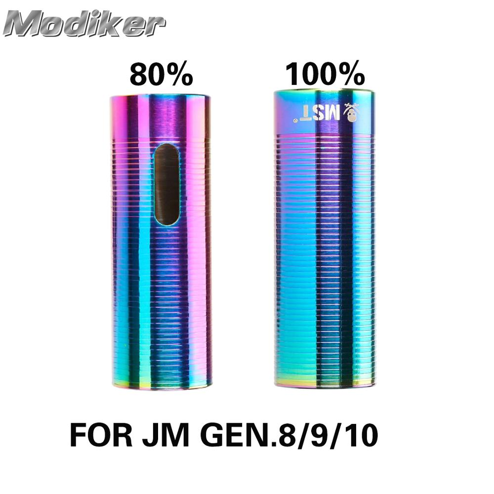 5/10PCS Stainless Steel 80 /100 Percent Gas Volume Air Cylinder for JM Gen.8 M4A1/JM Gen.9 M4A1/JM Gen.10 ACR Water Gel Beads