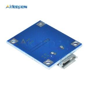 Image 5 - 10 個 TP4056 マイクロ USB 18650 リチウム電池の充電ボードプレート充電器モジュール + 保護デュアル機能 5V 1A