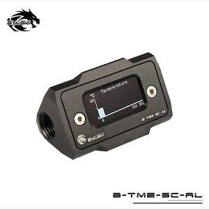 Image 2 - Bykski מחשב מים קירור מדחום HD LCD עם אמת זמן טמפרטורת זיהוי B TME SC AL
