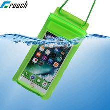 Estojo para celular à prova d'água para natação, bolsa subaquática para celular iphone 6s 7x8 universal 4.7 3/4 polegadas 5.5 5.8
