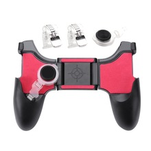 5 in 1 Mobile Phone Gamepad Joystick Controller L1 R1 Fire Shooter Buttons Trigger Handle for PUBG for iPhone Android Game pad