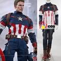 2017 Halloween Costumes adult new Captain America the Avengers Ultron Cosplay Costume superhero Steve Captain America costume