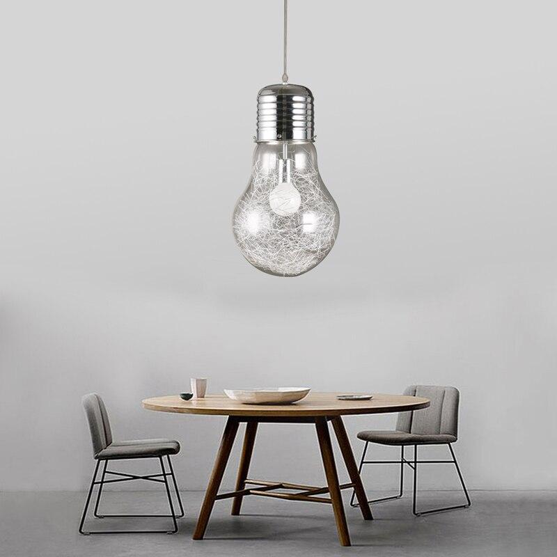 Uitzonderlijk Aliexpress.com: Koop Nieuwigheid Hanglamp Grote Bol Vorm VB38
