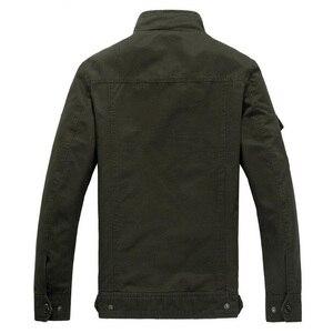 Image 5 - 2020 Military Jacket Men Jeans Casual Cotton Coat Plus Size 6XL Army Bomber Tactical Flight Jacket Autumn Winter Cargo Jackets